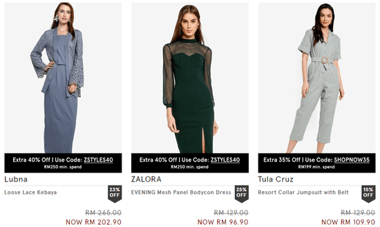 Zalora Clothing
